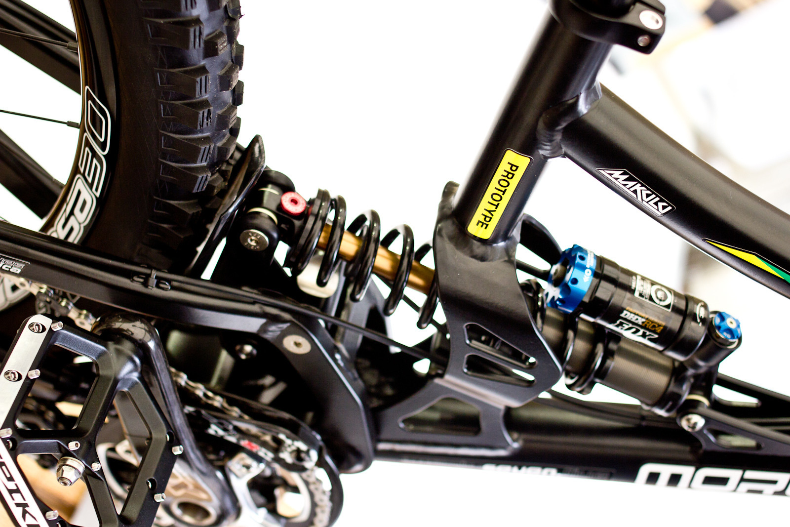 2014 Morewood Makulu 650B Prototype DH Bike  - 2014 Downhill Bikes at Eurobike 2013 - Mountain Biking Pictures - Vital MTB