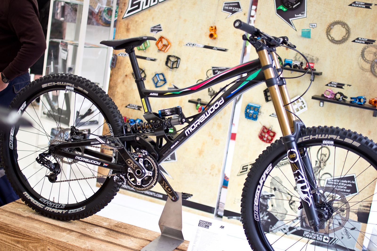 2014 Morewood Makulu 650B Prototype DH Bike - 2014 Downhill Bikes at Eurobike 2013 - Mountain Biking Pictures - Vital MTB