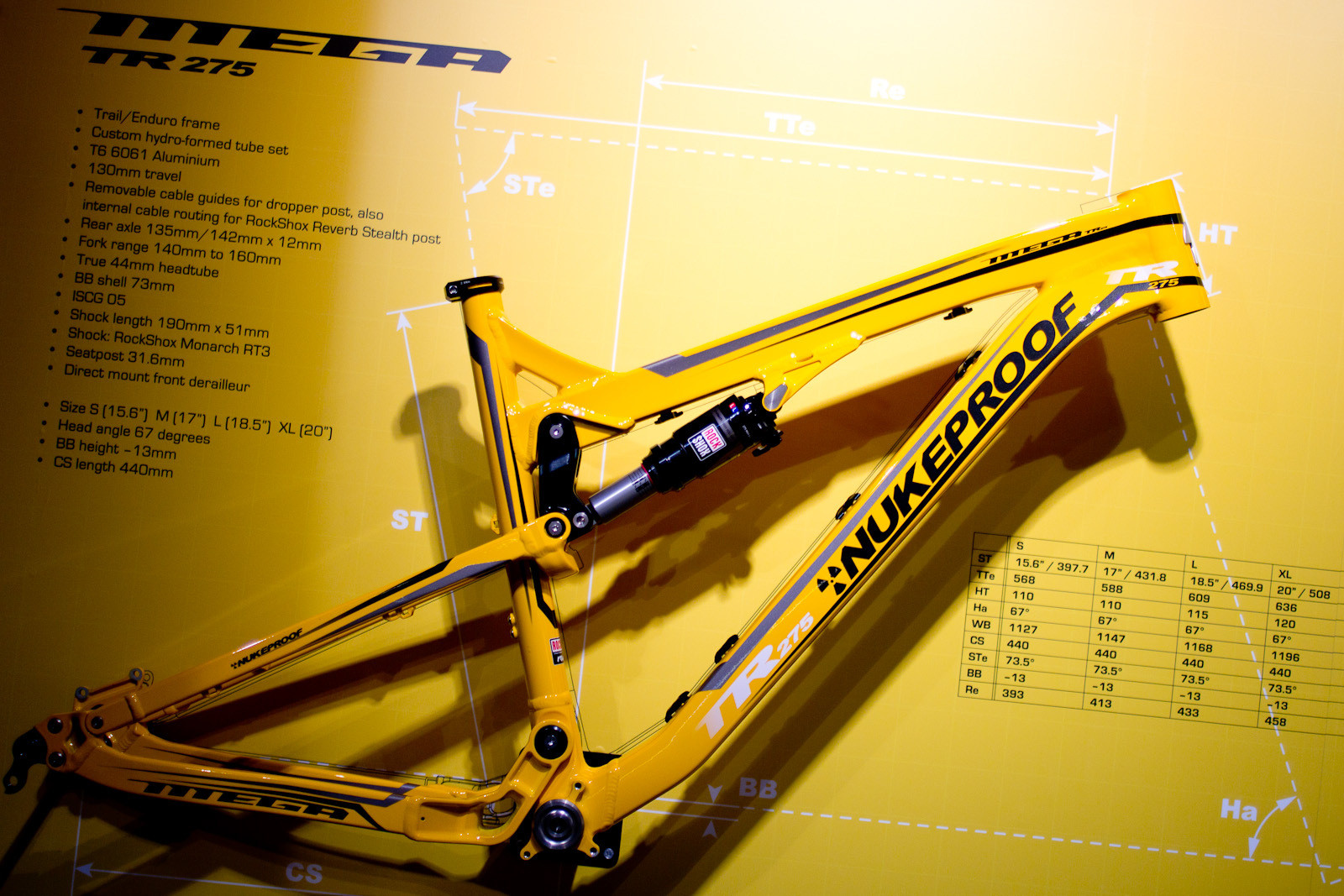 2014 Nukeproof Mega TR 27 5 - 2014 Trail, All-Mountain & Enduro Bikes at Eurobike 2013 - Mountain Biking Pictures - Vital MTB