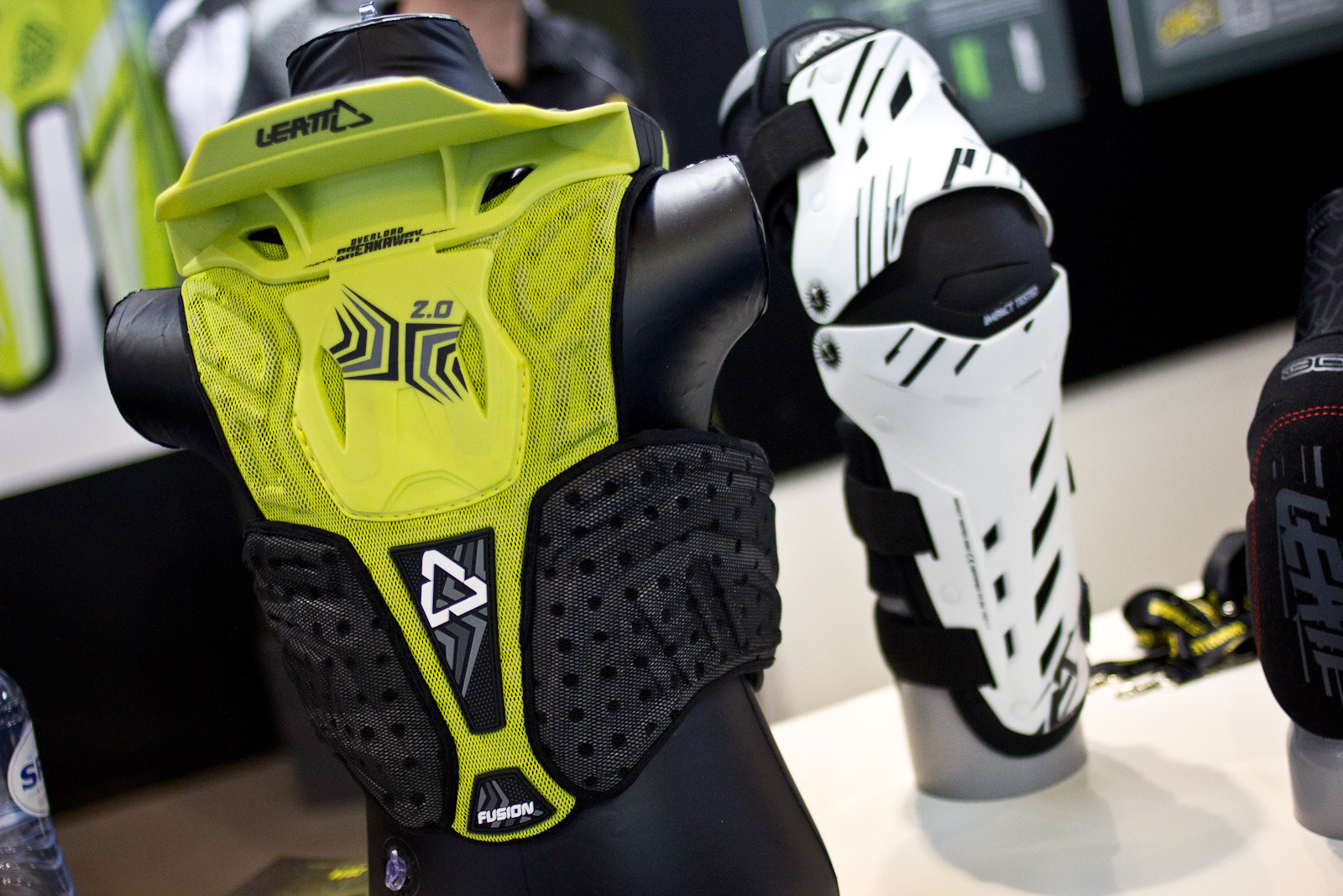 Leatt Fuzion 2.0 Kid's Brace and Armor  - 2014 Mountain Bike Apparel & Protection at Eurobike 2013 - Mountain Biking Pictures - Vital MTB