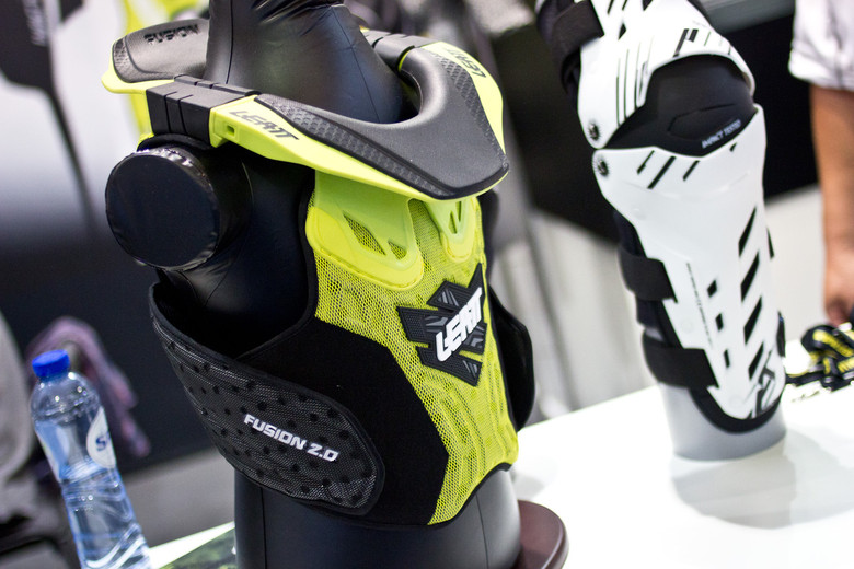 Leatt Fuzion 2.0 Kid's Brace and Armor - 2014 Mountain Bike Apparel & Protection at Eurobike 2013 - Mountain Biking Pictures - Vital MTB