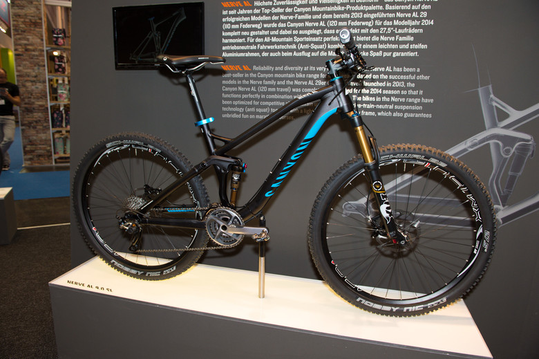 2014 Canyon Nerve 275 - 2014 Trail, All-Mountain & Enduro Bikes at Eurobike 2013 - Mountain Biking Pictures - Vital MTB