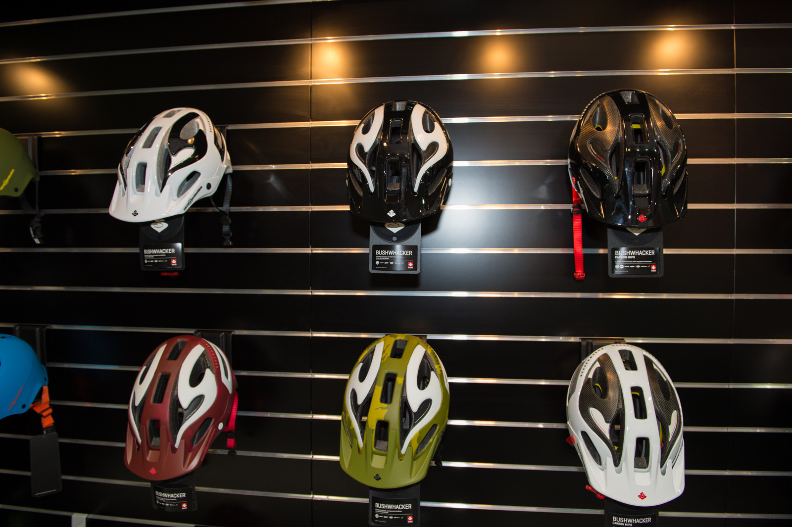 Sweet Protection Bushwhacker Helmets - 2014 Mountain Bike Apparel & Protection at Eurobike 2013 - Mountain Biking Pictures - Vital MTB