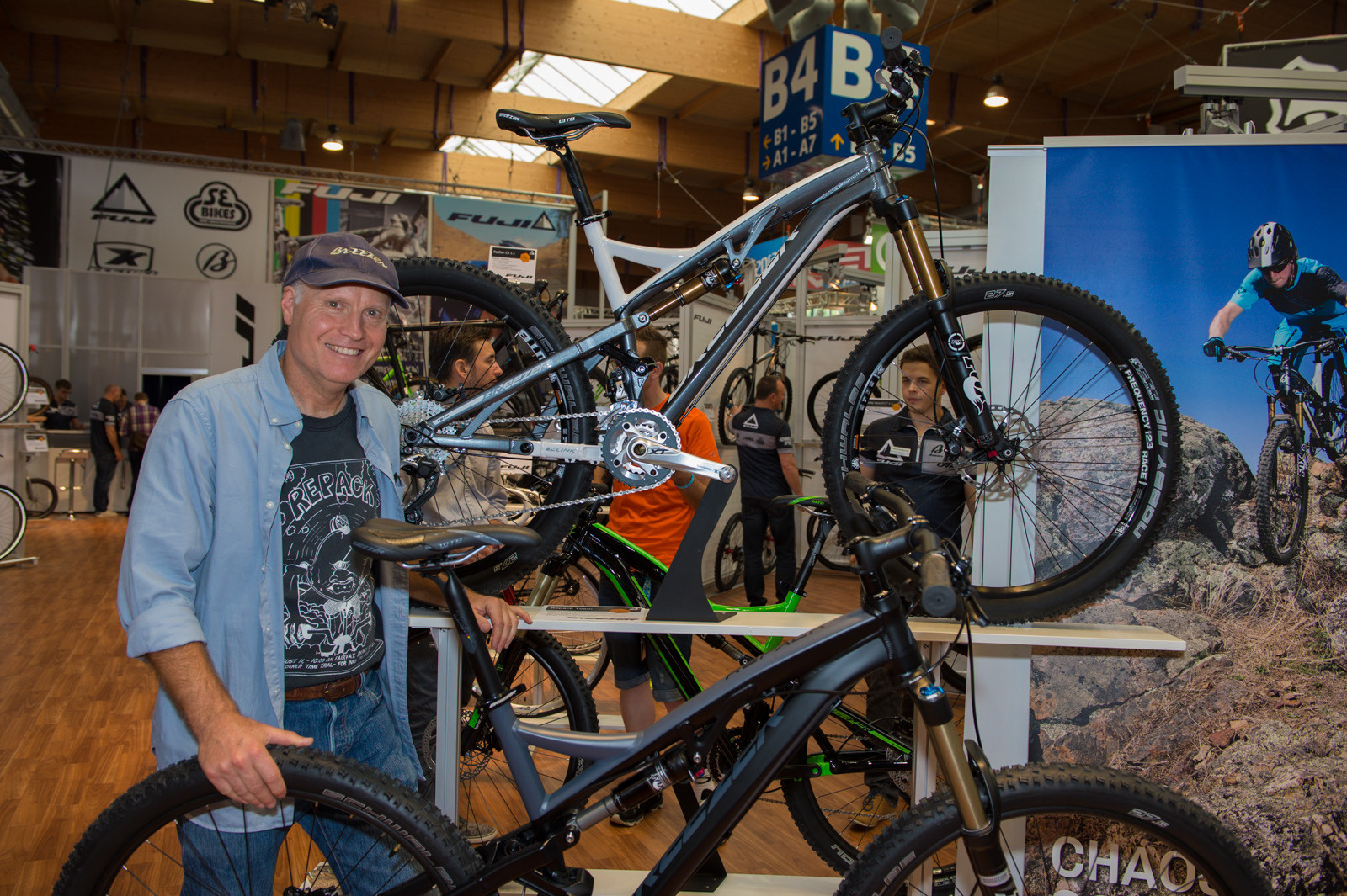 Joe Breeze and the Repack - 2014 Trail, All-Mountain & Enduro Bikes at Eurobike 2013 - Mountain Biking Pictures - Vital MTB