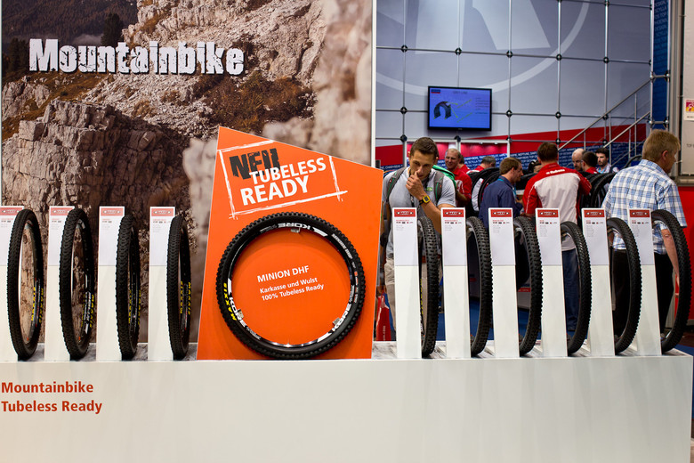Maxxis Gravity and Enduro Line Now Tubeless Ready - 2014 Mountain Bike Components at Eurobike 2013 - Mountain Biking Pictures - Vital MTB
