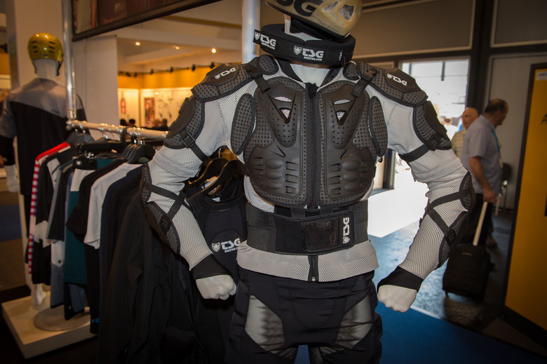 TSG Backbone Trailfox Armor - 2014 Mountain Bike Apparel & Protection at Eurobike 2013 - Mountain Biking Pictures - Vital MTB