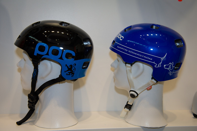 Danny Mac and Soderstrom POC Crane Pure Helmets - 2014 Mountain Bike Apparel & Protection at Eurobike 2013 - Mountain Biking Pictures - Vital MTB