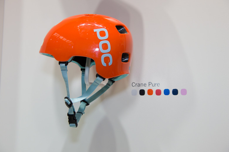 POC Crane Pure Helmet - 2014 Mountain Bike Apparel & Protection at Eurobike 2013 - Mountain Biking Pictures - Vital MTB