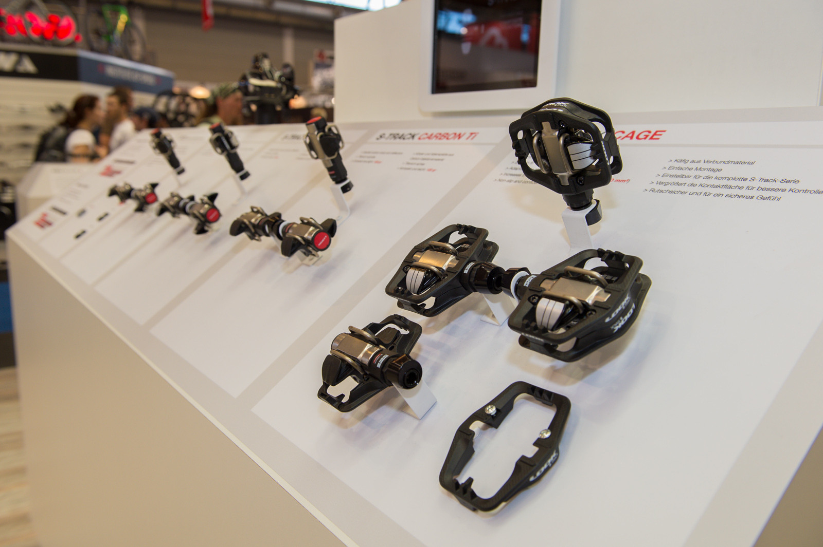 Look S-Cage Pedals - 2014 Mountain Bike Components at Eurobike 2013 - Mountain Biking Pictures - Vital MTB
