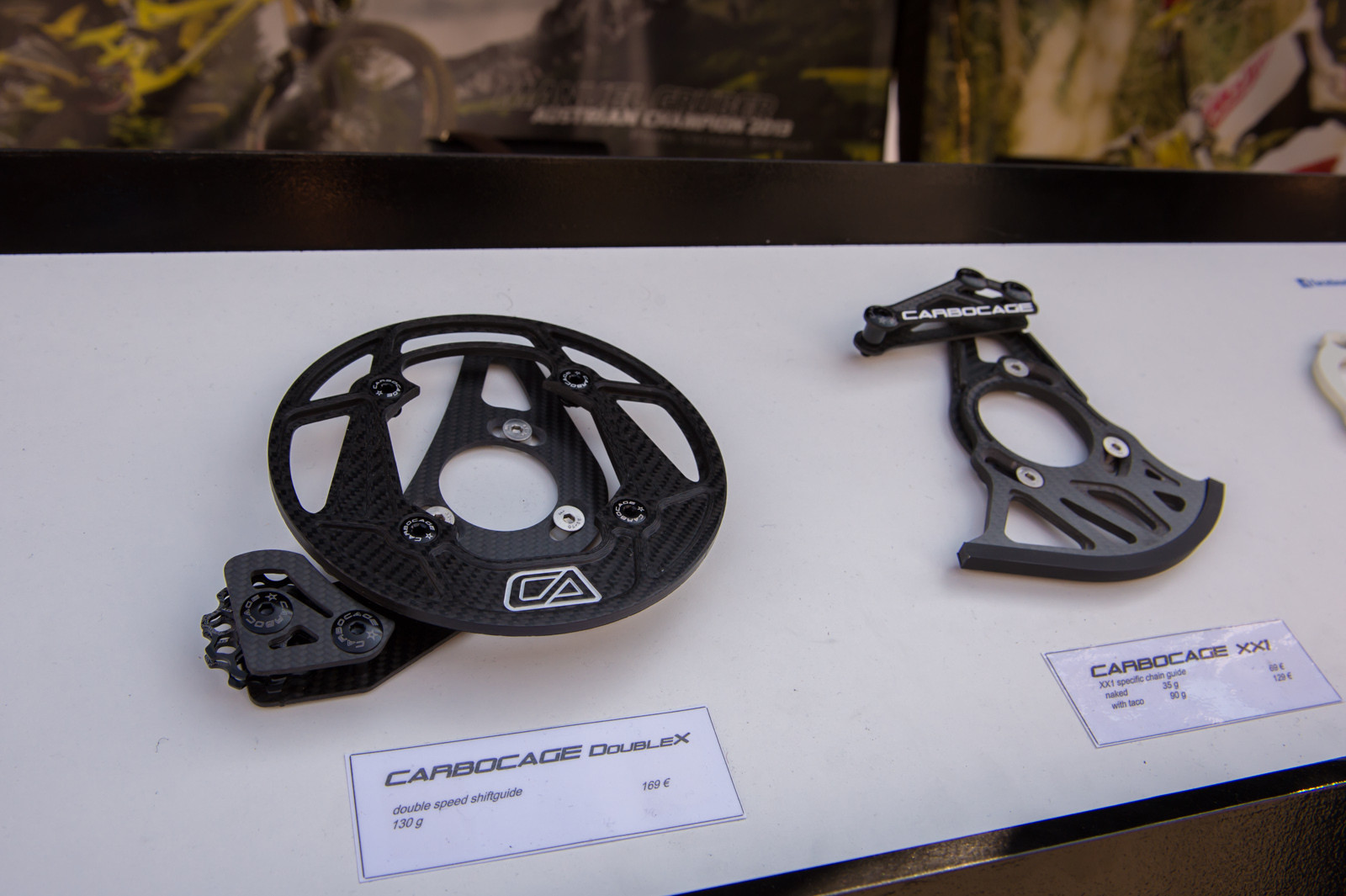 Carbocage Chainguides - 2014 Mountain Bike Components at Eurobike 2013 - Mountain Biking Pictures - Vital MTB