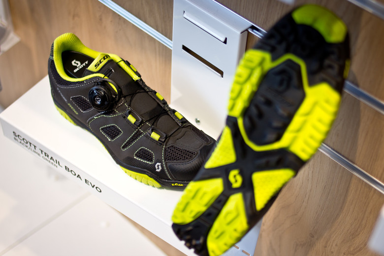 Scott Trail Boa EVO Shoes - 2014 Mountain Bike Apparel & Protection at Eurobike 2013 - Mountain Biking Pictures - Vital MTB