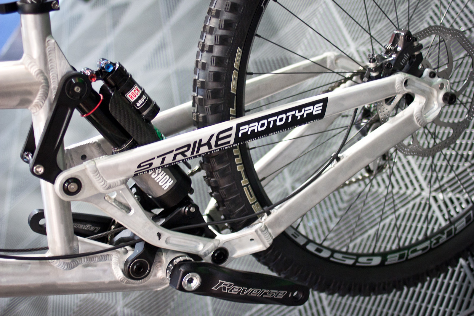 Solid Strike Prototype DH Bike - 2014 Downhill Bikes at Eurobike 2013 - Mountain Biking Pictures - Vital MTB