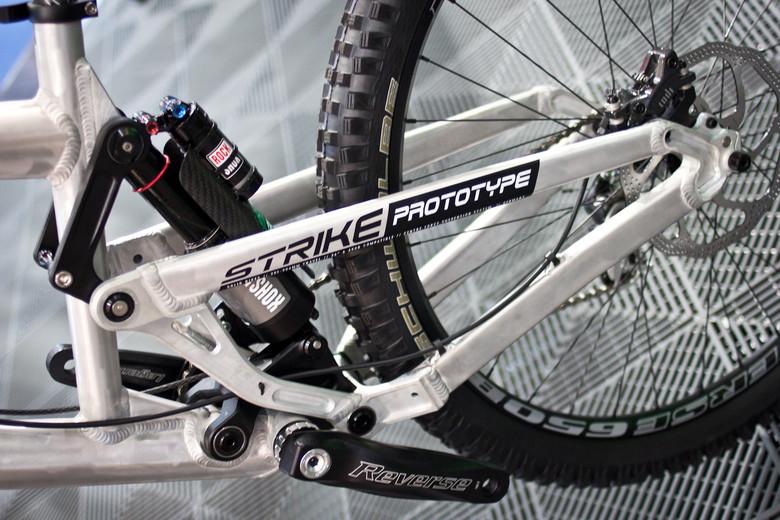 Solid Strike Prototype DH Bike - 2014 Downhill Bikes at Eurobike 2013 - Mountain Biking Pictures - Vital MTB