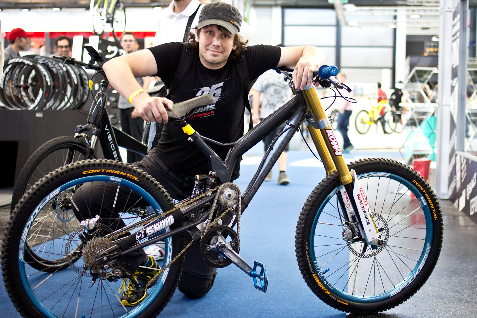 Norland Cycles Stealth Rider Prototype DH Bike - 2014 Downhill Bikes at Eurobike 2013 - Mountain Biking Pictures - Vital MTB