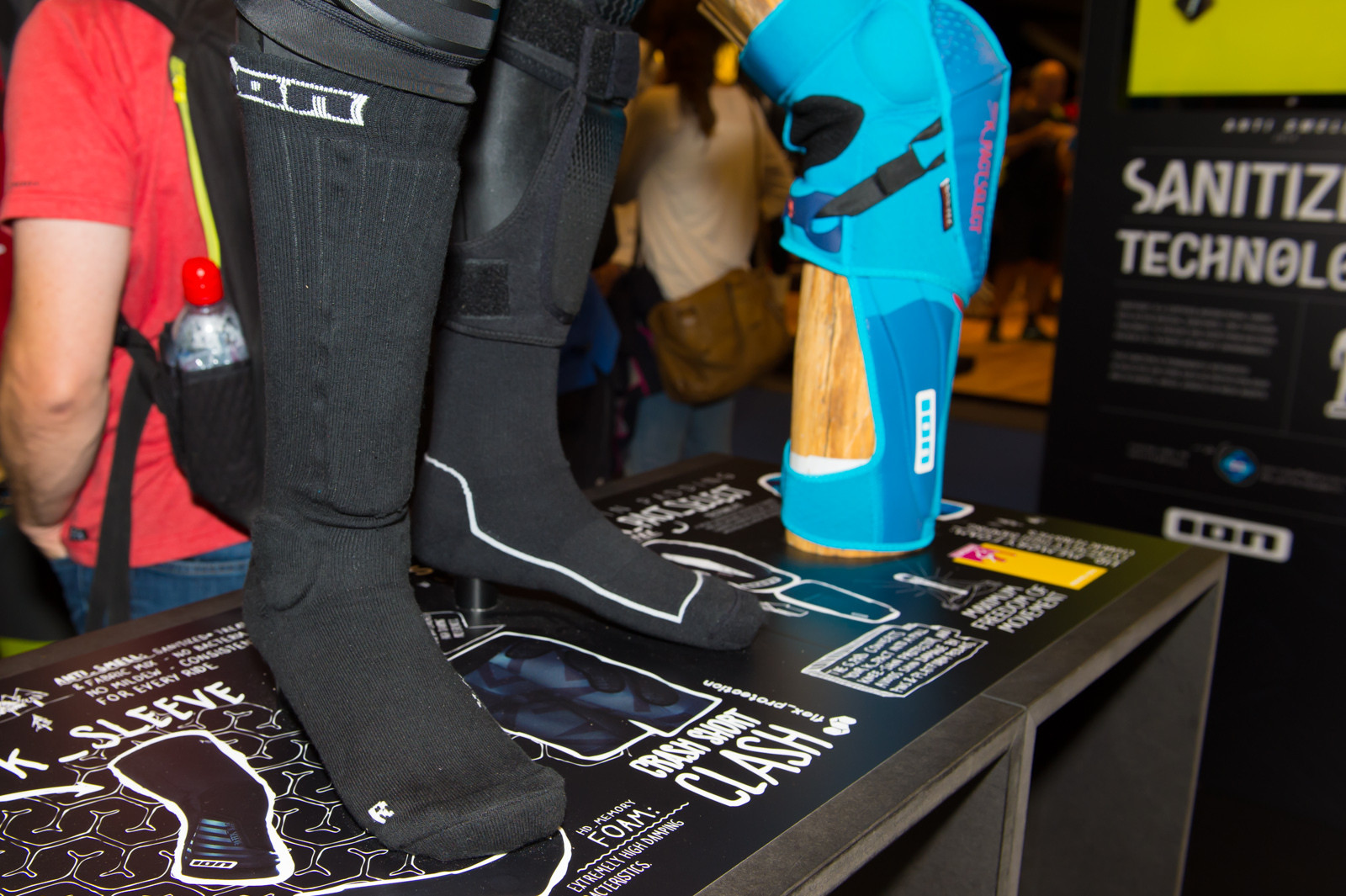 ION Protective Socks - 2014 Mountain Bike Apparel & Protection at Eurobike 2013 - Mountain Biking Pictures - Vital MTB