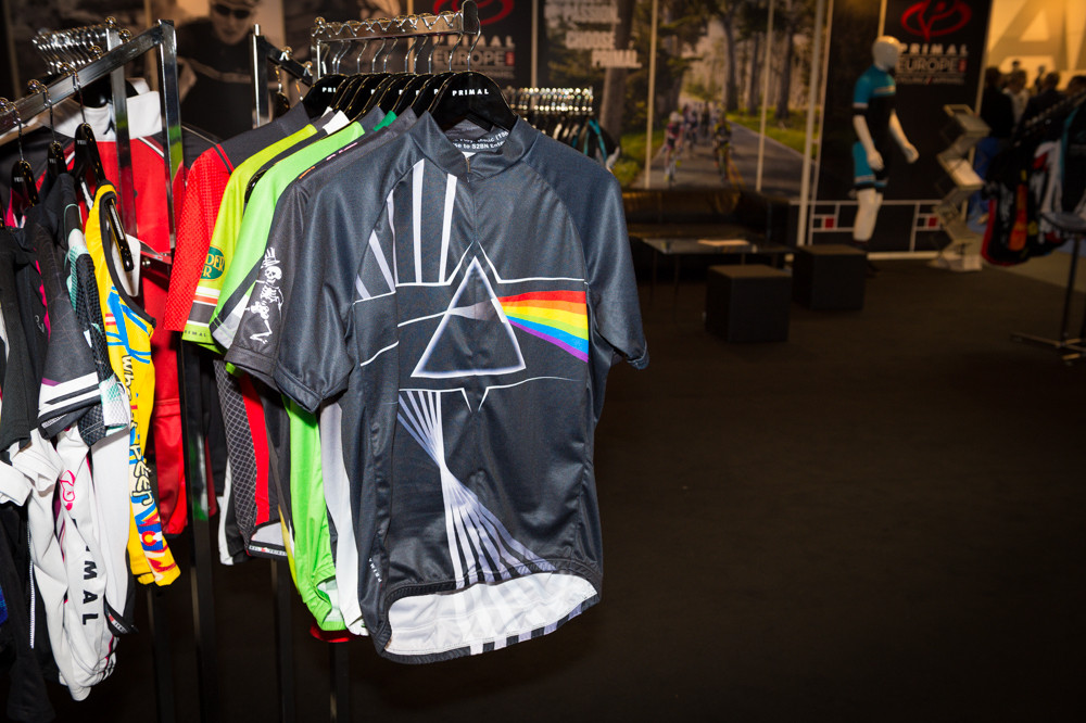 Pink Floyd Jersey - 2014 Mountain Bike Apparel & Protection at Eurobike 2013 - Mountain Biking Pictures - Vital MTB