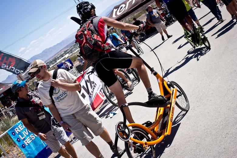 Elliptical Bike - INTERBIKE: Part 1 - Outdoor Demo Rad Bits & Randoms - Mountain Biking Pictures - Vital MTB