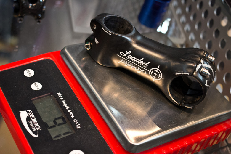 Loaded Precision Napalm Carbon Stem - INTERBIKE: Part 4 - Another 30 New Products for 2014 - Mountain Biking Pictures - Vital MTB