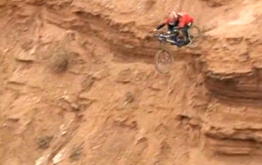 #ThrowbackThursday - Wade Simmons Winning the Inaugural Red Bull Rampage - bturman - Mountain Biking Pictures - Vital MTB