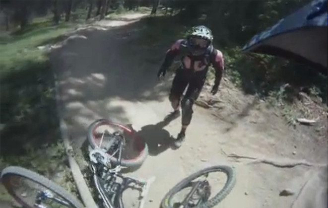 #ThrowbackThursday - The Infamous Fender Bender Freakout - bturman - Mountain Biking Pictures - Vital MTB