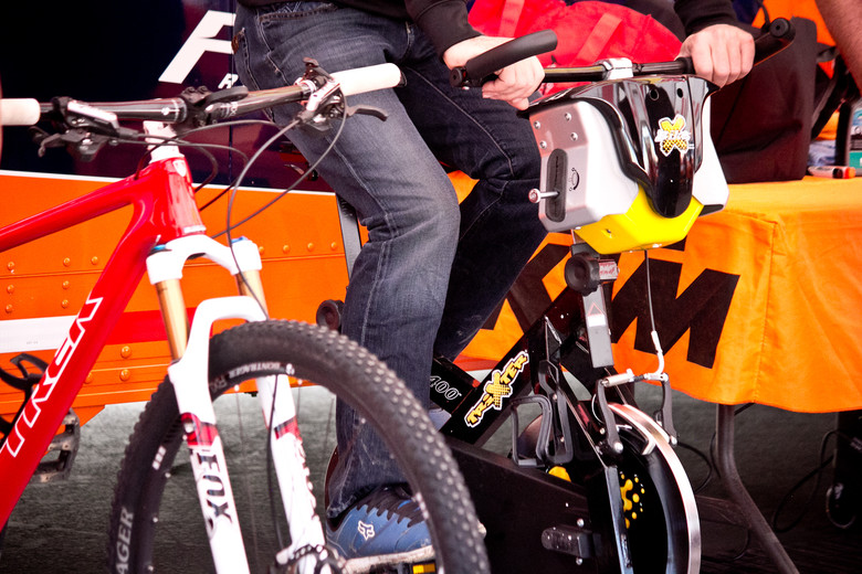 What the Motocross Pros Ride: Dungey's Trixter Trainer - What the Motocross Pros Ride - Mountain Biking Pictures - Vital MTB