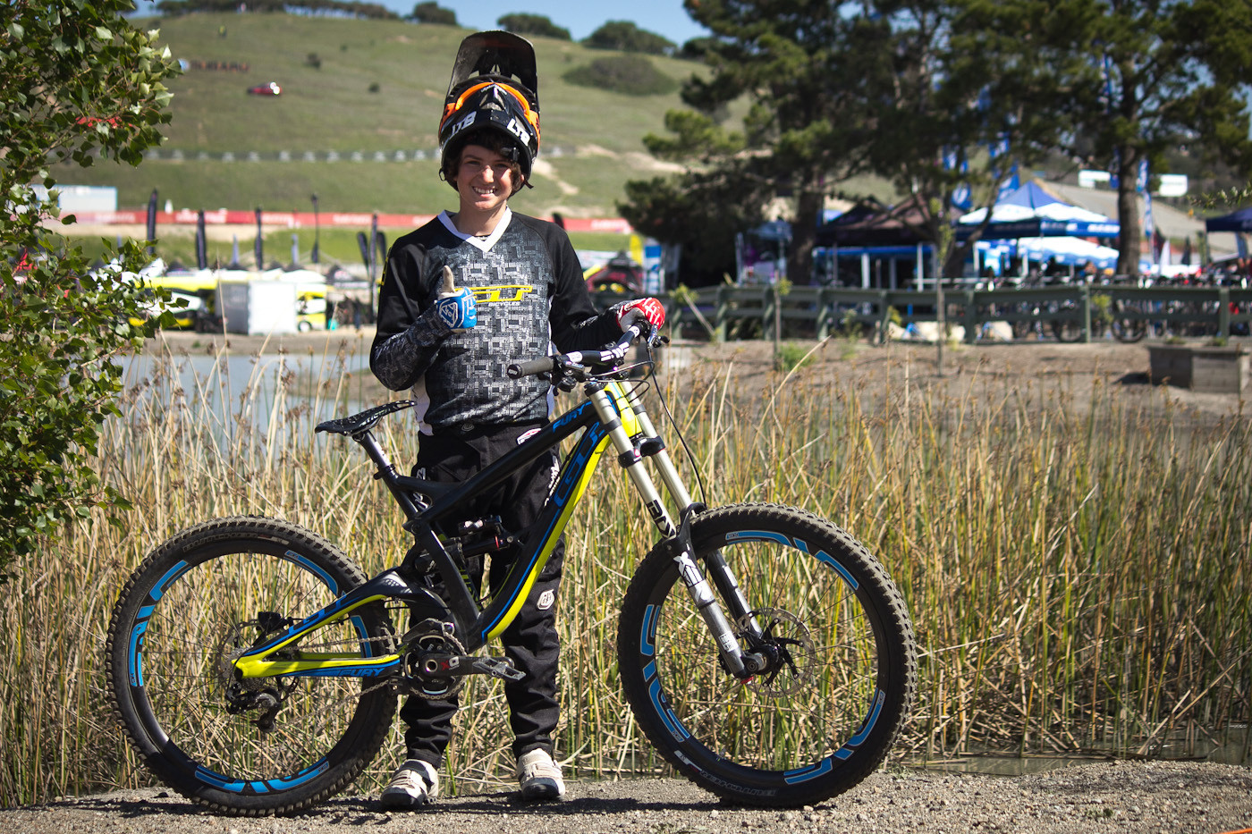 World's First XS GT Fury - Sea Otter Classic - 2014 Sea Otter Classic Pit Bits - Final Edition - Mountain Biking Pictures - Vital MTB