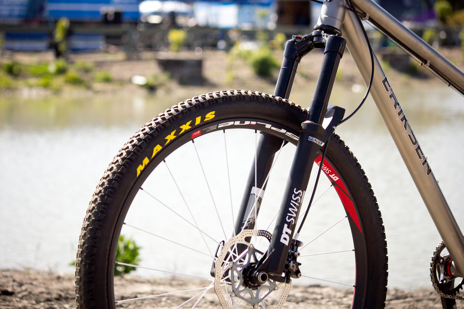 DT Swiss OL OPM Fork - Sea Otter Classic - 2014 Sea Otter Classic Pit Bits - 3rd Edition - Mountain Biking Pictures - Vital MTB