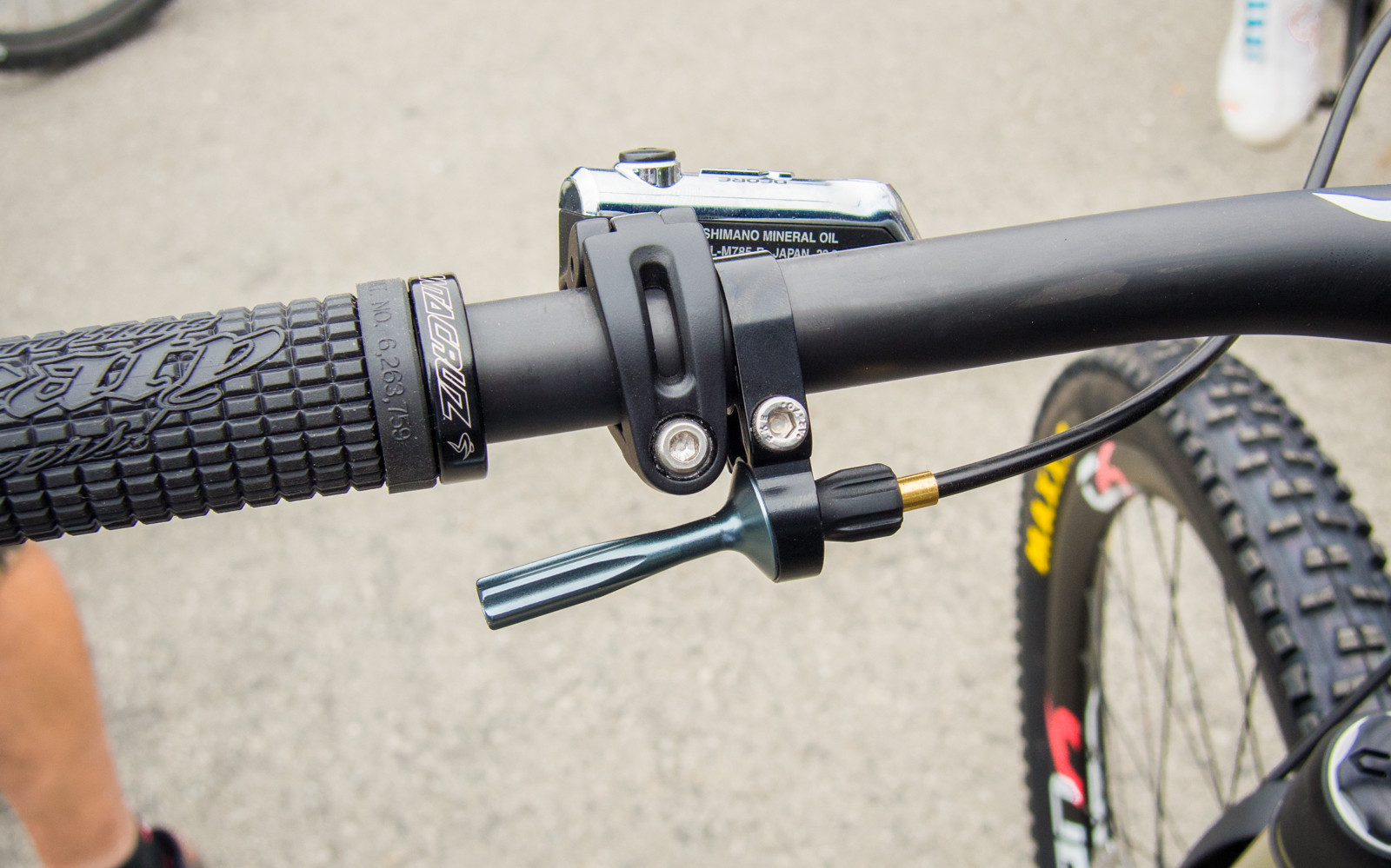 2015 X-Fusion Hilo SLS Dropper Post - Sea Otter Classic - 2014 Sea Otter Classic Pit Bits - Final Edition - Mountain Biking Pictures - Vital MTB