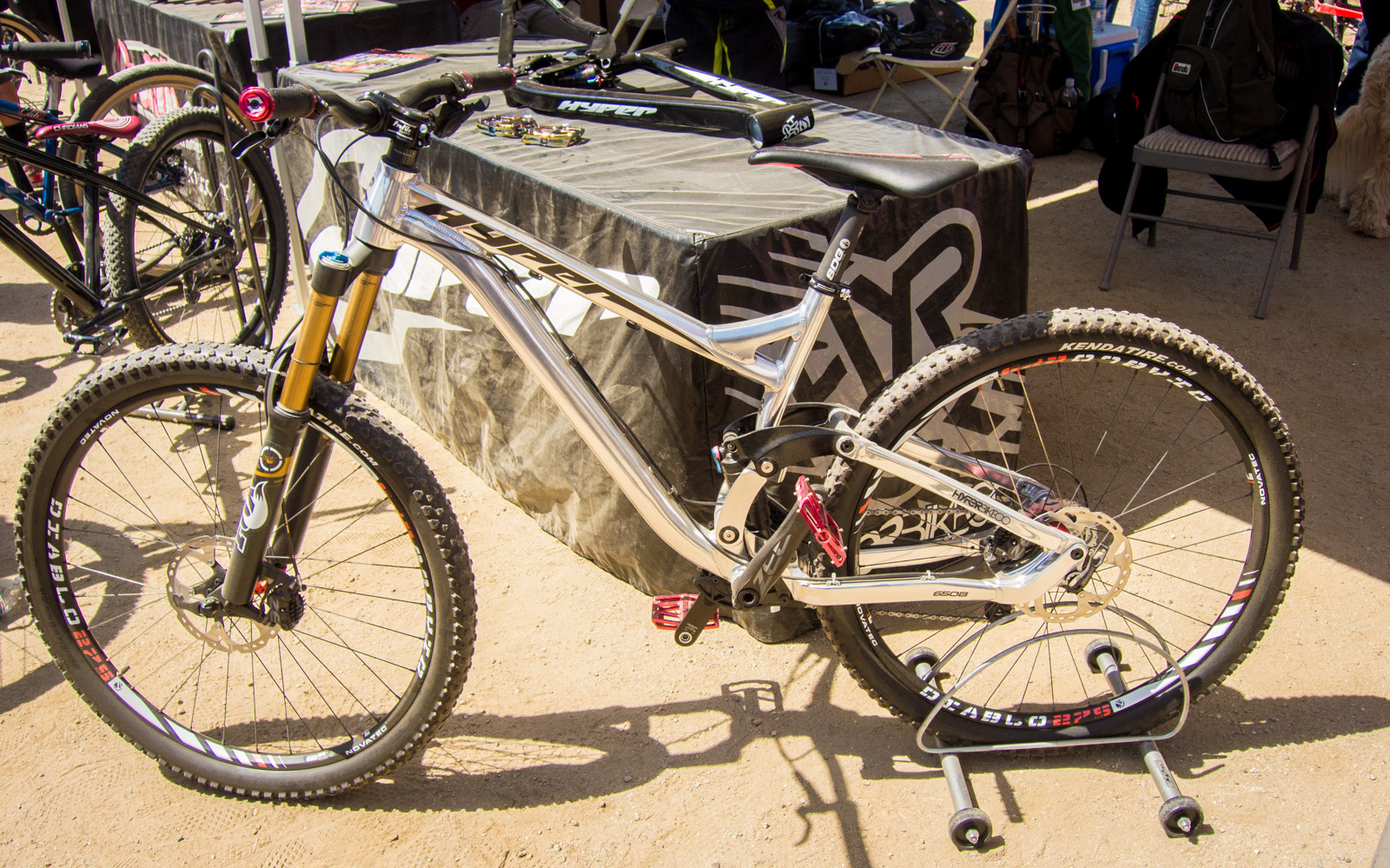 Hyper Trail Frame - Sea Otter Classic - 2014 Sea Otter Classic Pit Bits - Final Edition - Mountain Biking Pictures - Vital MTB