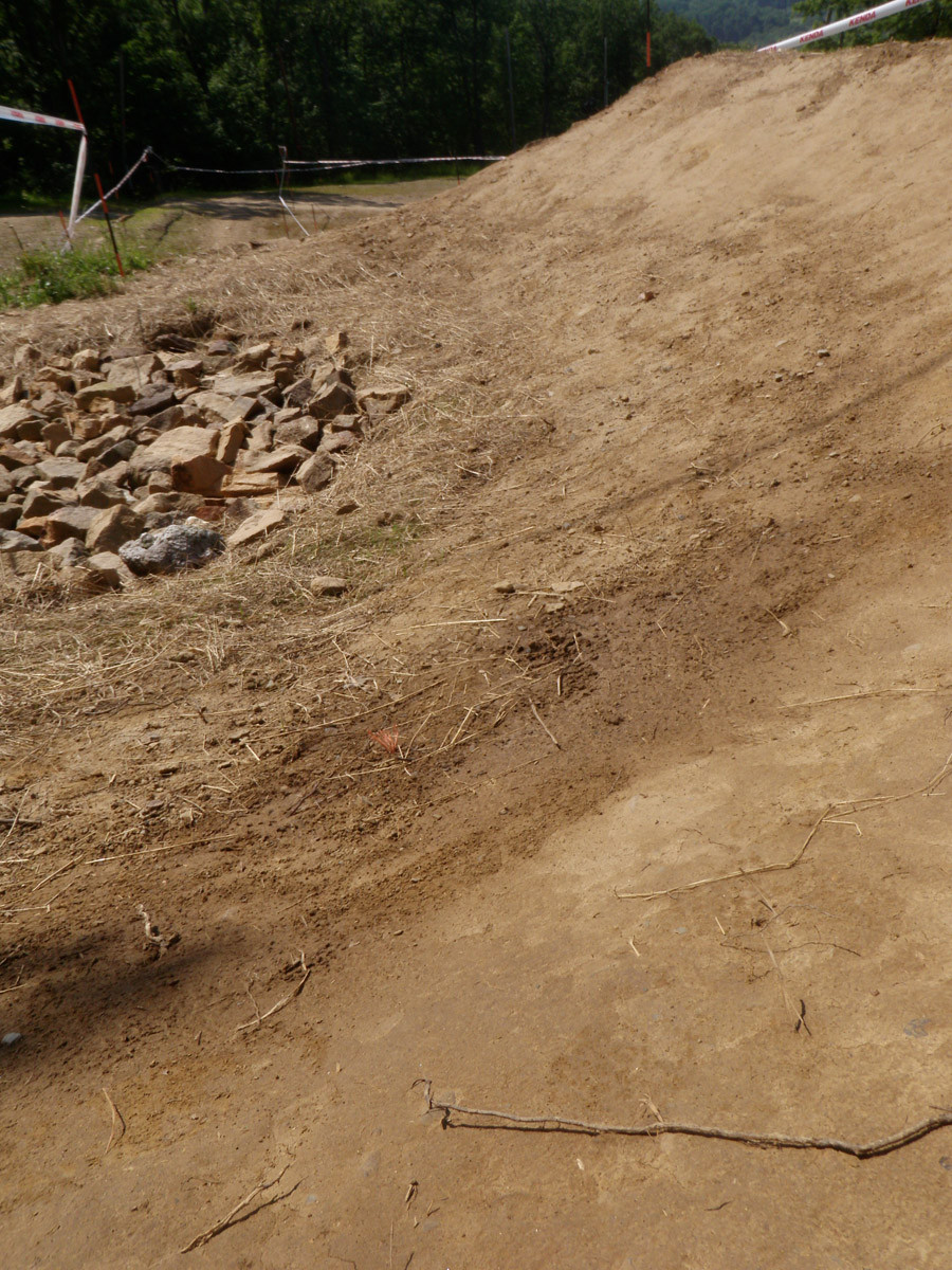 Berm to Step Down - US Open DH Course Walk Photos from Team Geronimo - Mountain Biking Pictures - Vital MTB