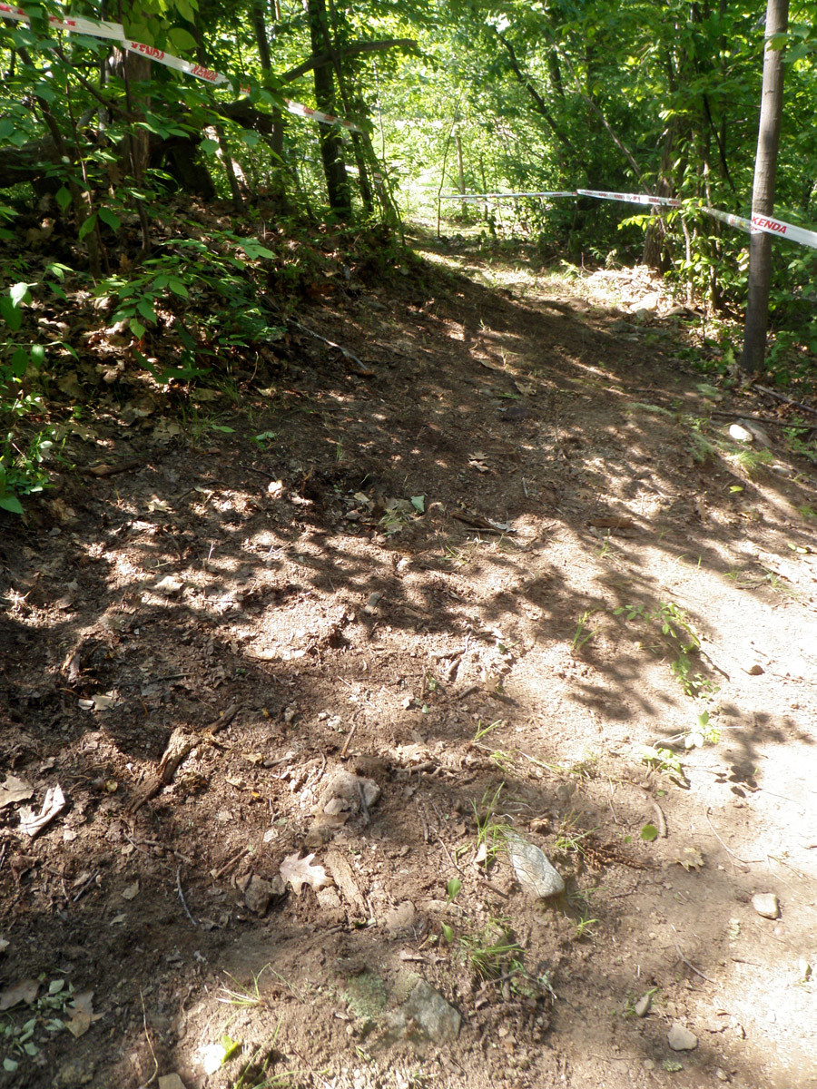 Another off camber turn - US Open DH Course Walk Photos from Team Geronimo - Mountain Biking Pictures - Vital MTB