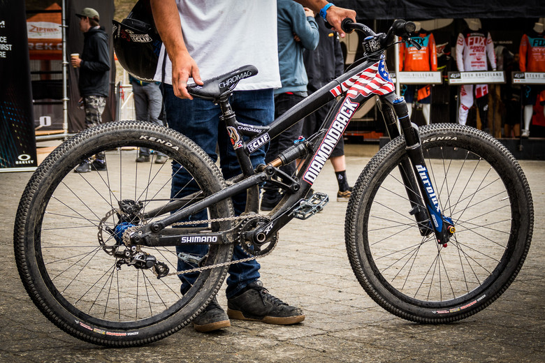 Storch S Prototype Diamondback Slopestyle Bike Pit Bits New