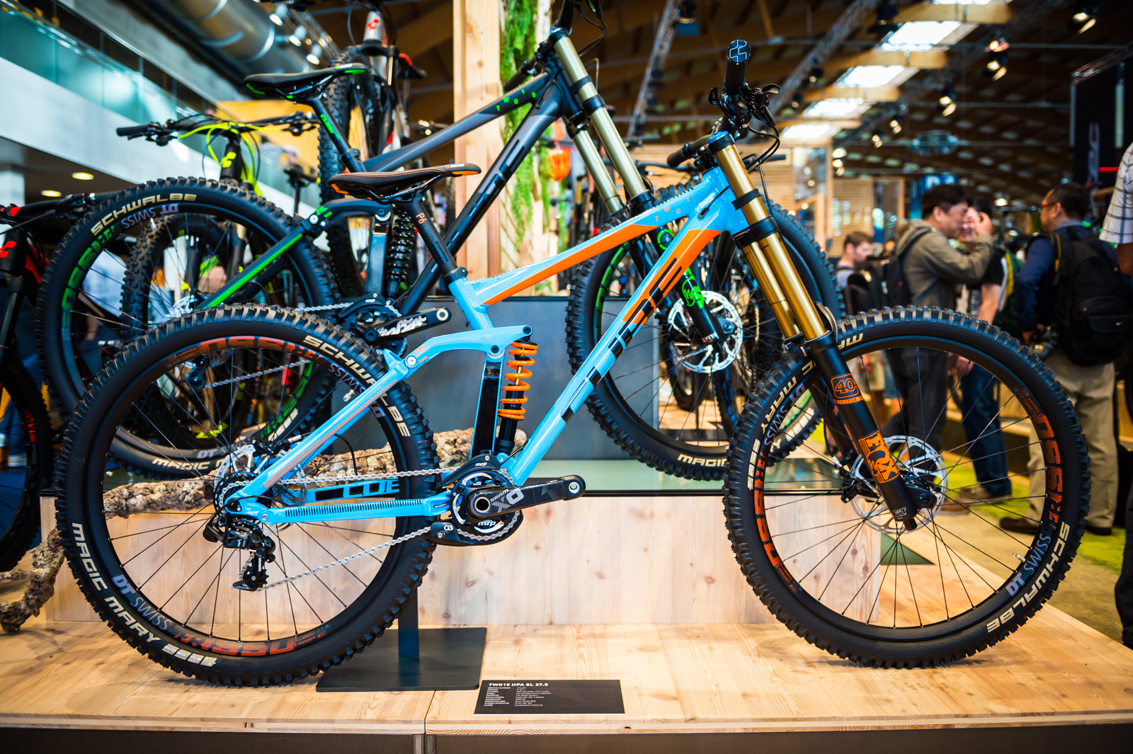 Cube Two15 Hpa Sl 27 5 2016 Downhill Bikes At Eurobike