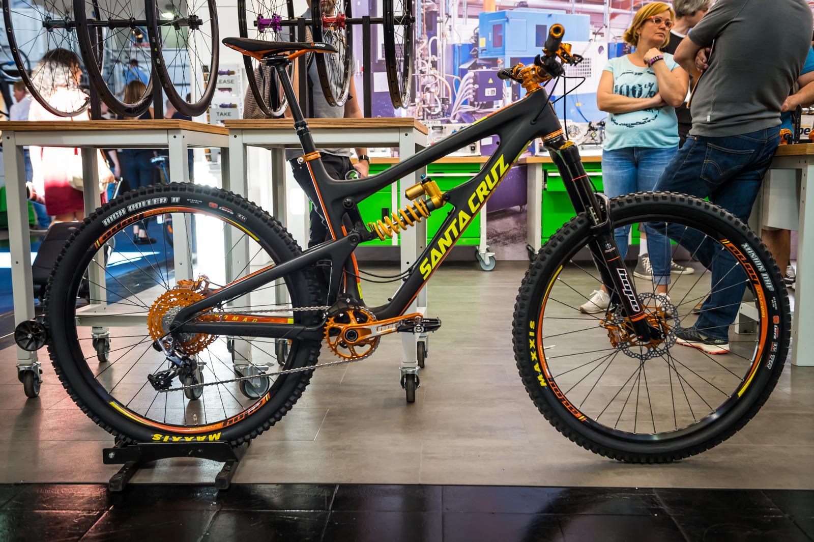 Hope Goes Orange 2016 Mountain Bike Components At