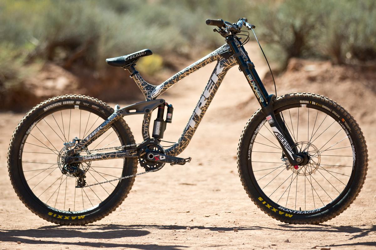 df41121d688 Rampage Pro Bike Check: Brandon Semenuk's Trek Session Park - Mountain  Biking Pictures - Vital MTB