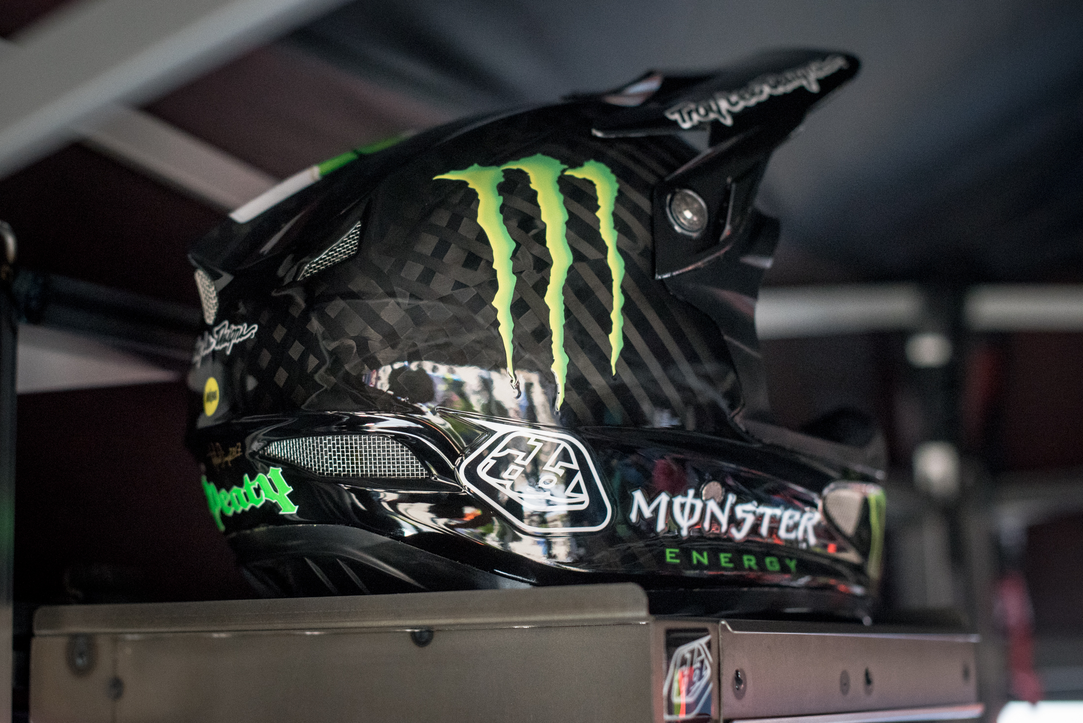 Custom Troy Lee Designs Semenuk and Peaty Helmets FredLikesTrikes