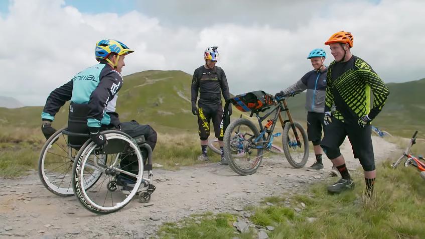 Inspirational A Paralyzed Martyn Ashton Rides Again In
