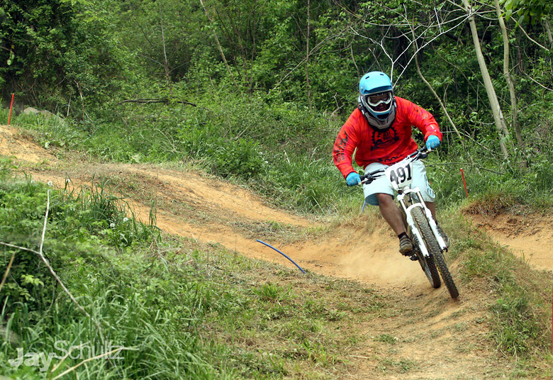 Nick Frantz at ESTU DS - waterdog - Mountain Biking Pictures - Vital MTB