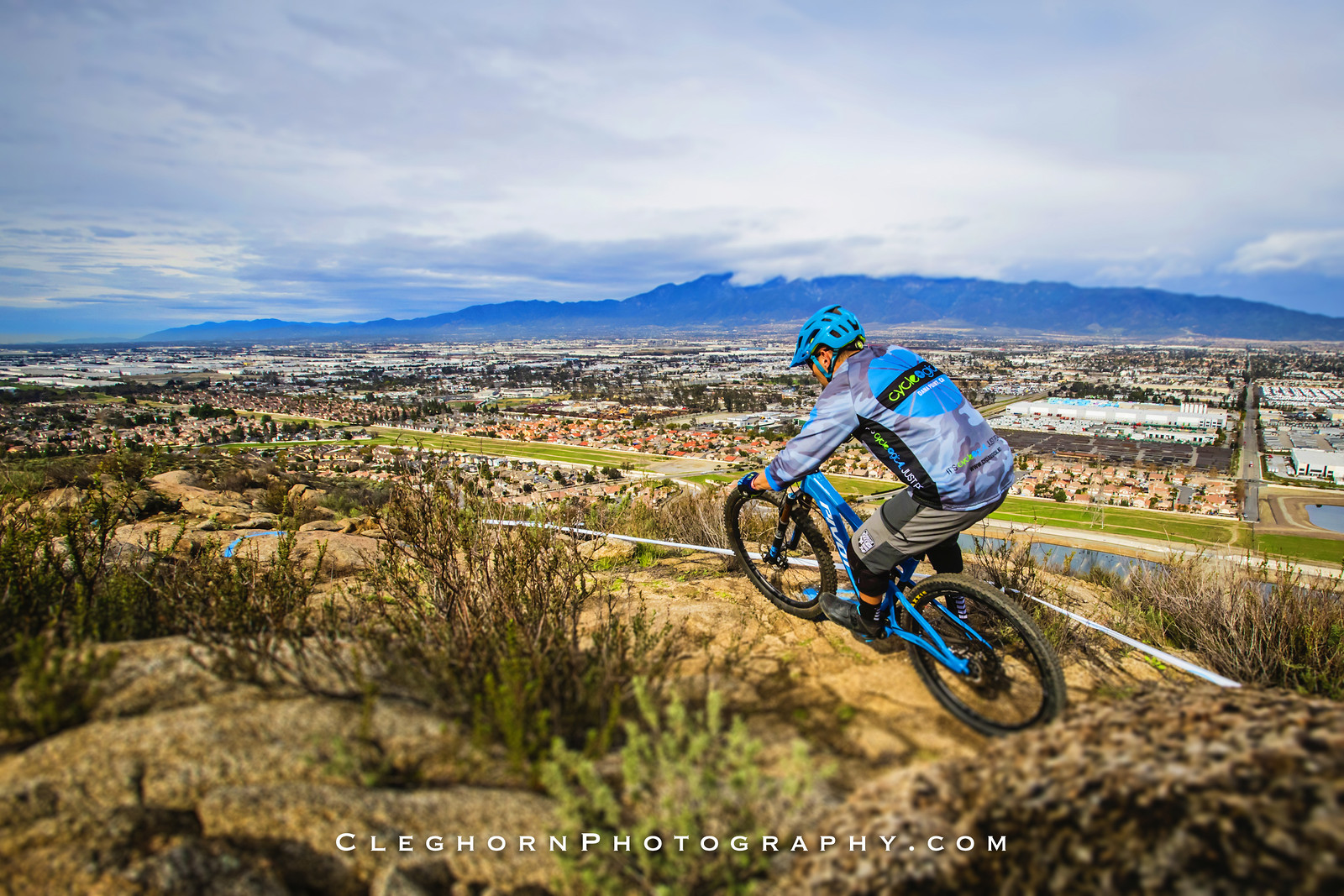 Landscaping - Cleghorn Photography - Mountain Biking Pictures - Vital MTB