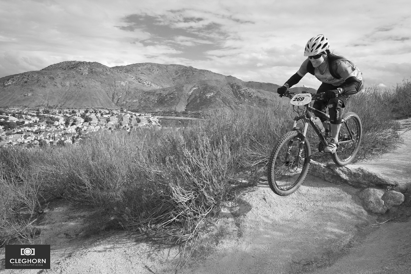 Donna Busher - Cleghorn Photography - Mountain Biking Pictures - Vital MTB