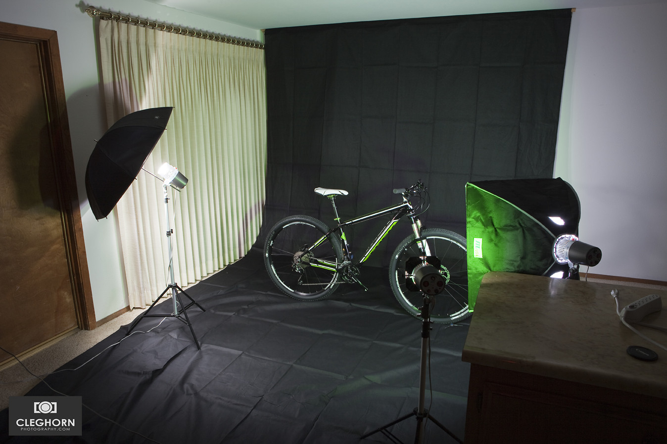 New studio lighting! - Cleghorn Photography - Mountain Biking Pictures - Vital MTB