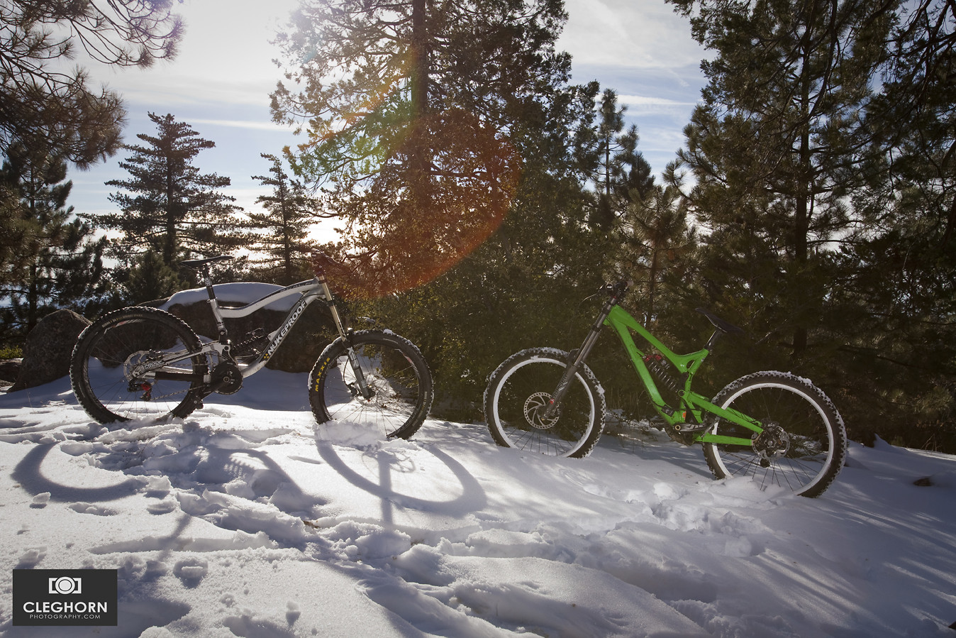 The rigs - Cleghorn Photography - Mountain Biking Pictures - Vital MTB