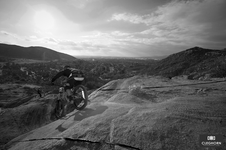 Dropping in - Cleghorn Photography - Mountain Biking Pictures - Vital MTB