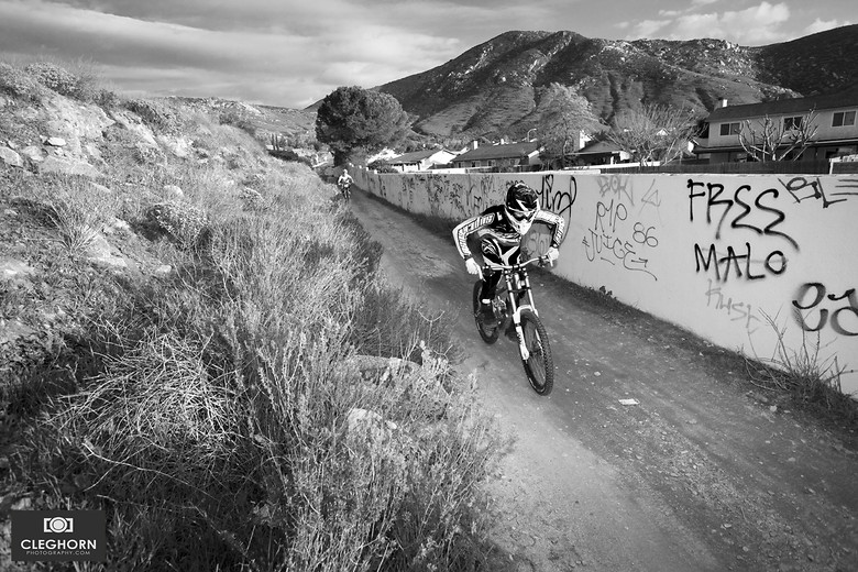 The Wall - Cleghorn Photography - Mountain Biking Pictures - Vital MTB