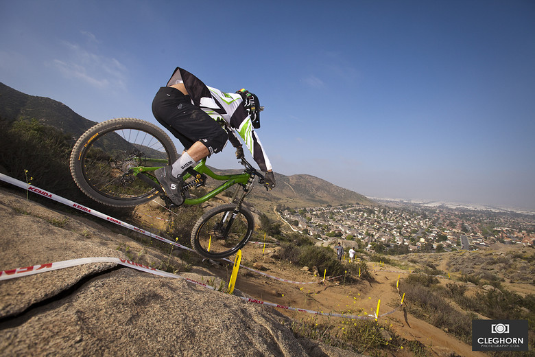 Flying! - Cleghorn Photography - Mountain Biking Pictures - Vital MTB
