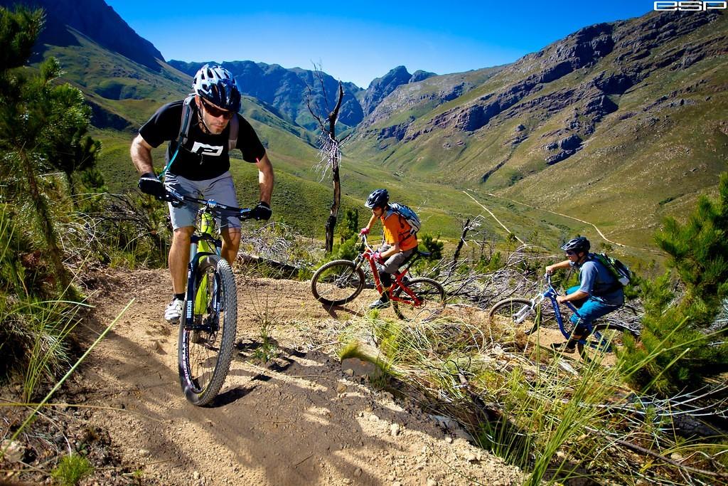 Patrick Morewood, Mark Hopkins & Hanco Binneman - ewaldsadie - Mountain Biking Pictures - Vital MTB