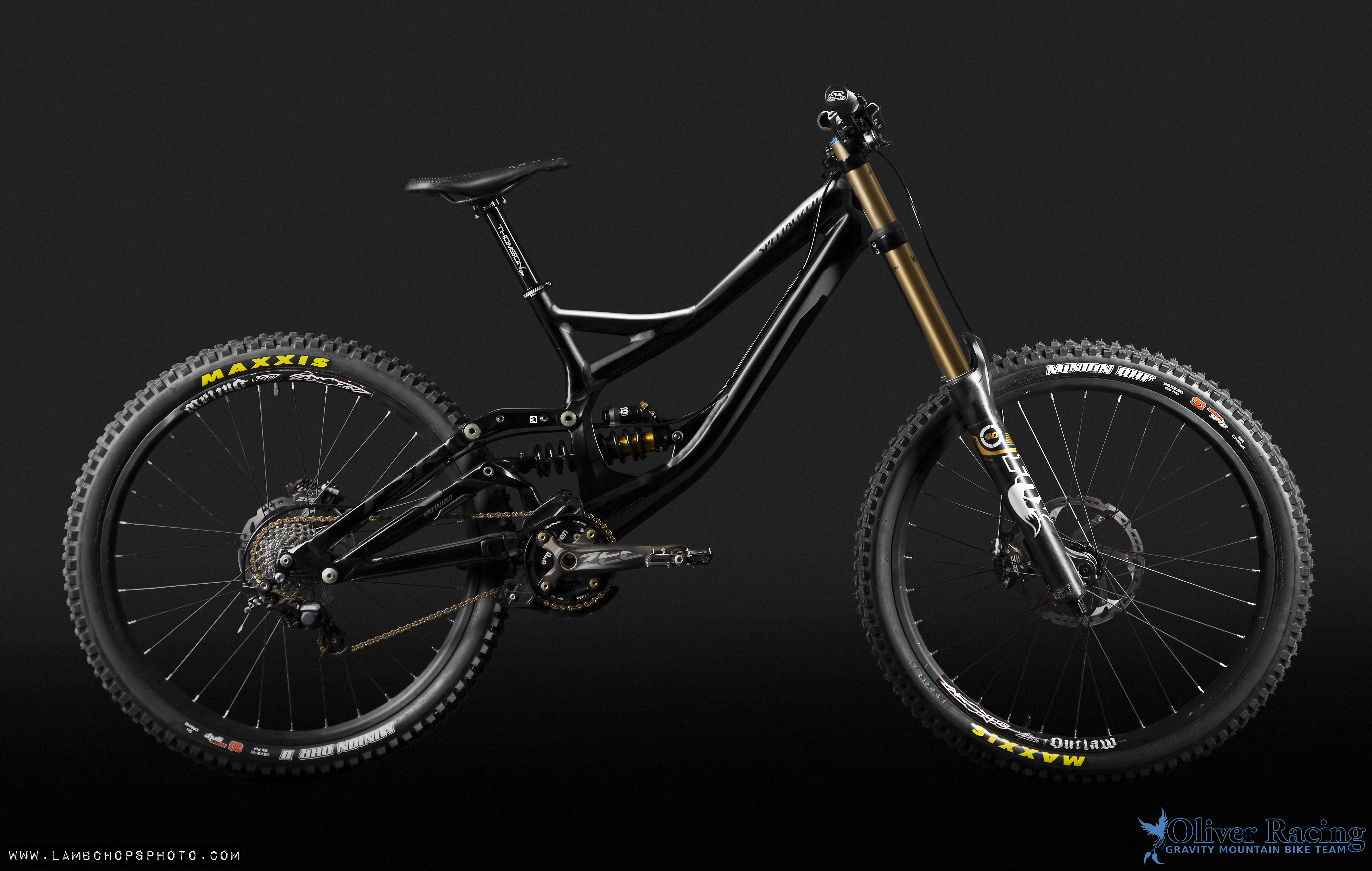 2013 Specialized Demo 8 - Oliver Racing Team Bike ...