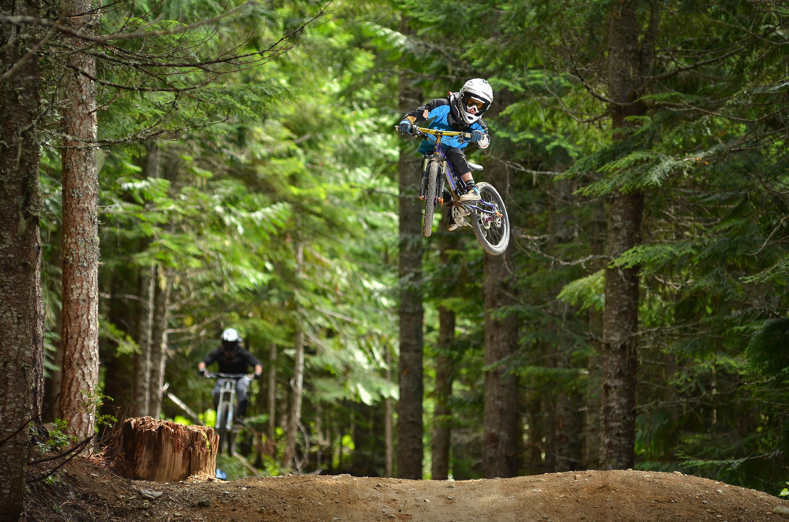 how to get big air on a bike