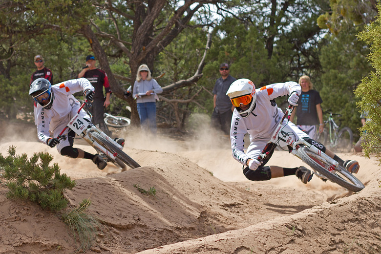 Jess Pedersen and Lear Miller - NoahColorado - Mountain Biking Pictures - Vital MTB