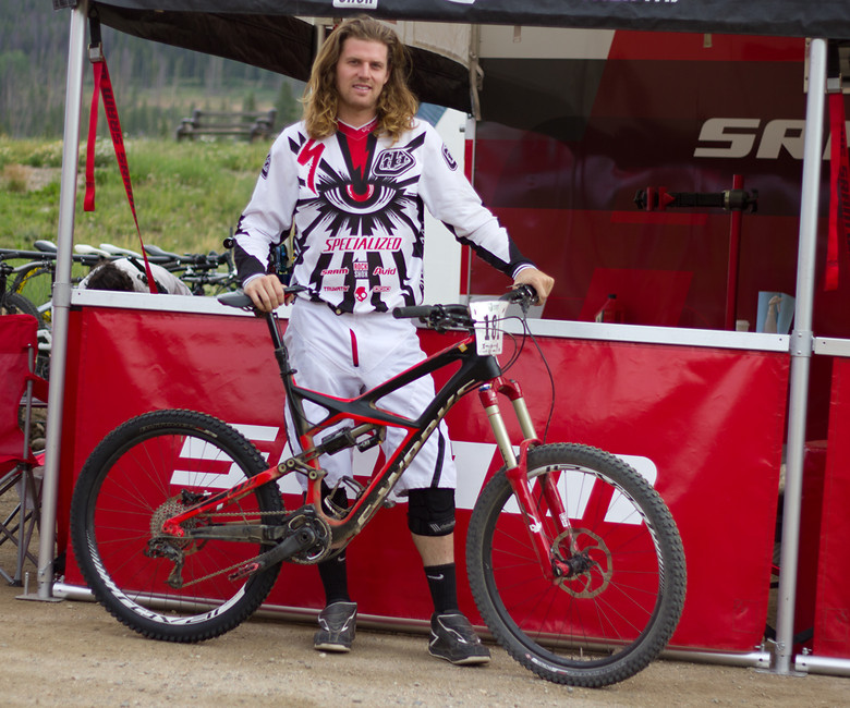Brad Benedict, Specialized S-Works Enduro - NoahColorado - Mountain Biking Pictures - Vital MTB